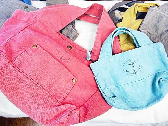 フェリシモ 古着屋さんで見つけたような大きめバッグ felissimo-collection-bag