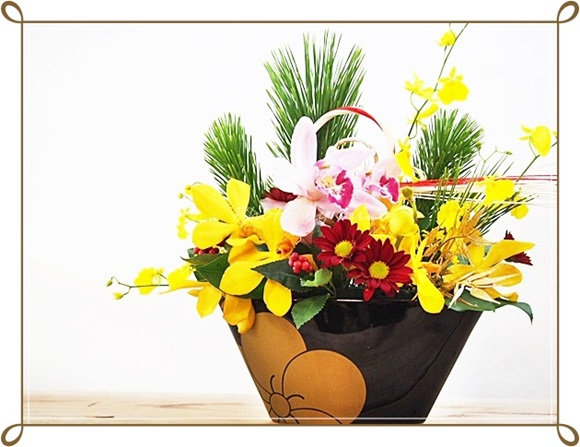 日比谷花壇 正月 hibiyakadan-ume