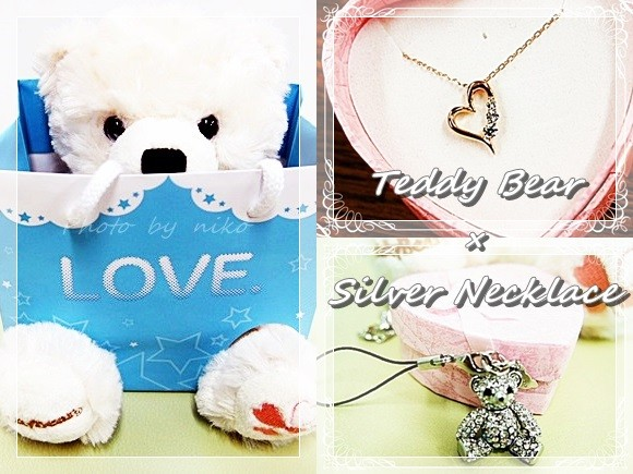 テディベア ネックレス プレゼント jwell,teddy,bear,pendant
