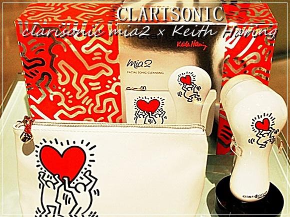 クラリソニック ミア2とキース・ヘリングのコラボ音波洗顔器をプレゼントに