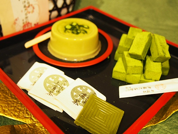 伊藤久右衛門 抹茶生チョコレートとプリン(京のはんなりセット)をプレゼントに!バレンタインギフト