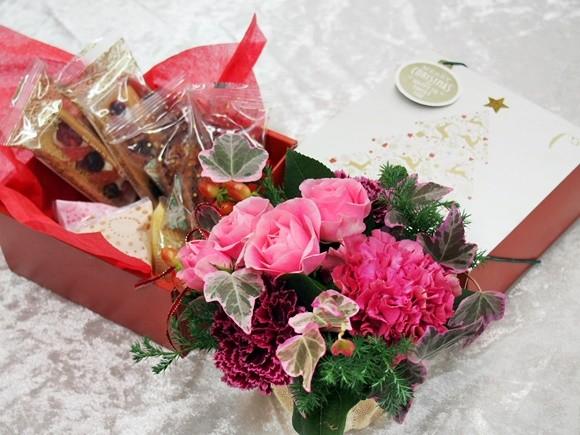 クリスマスギフト お菓子 日比谷花壇
