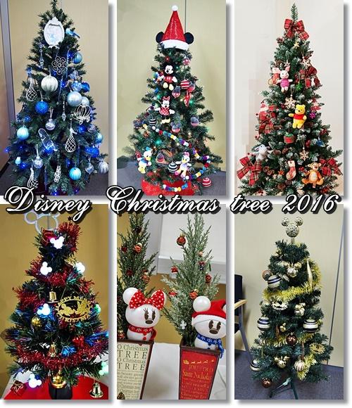 ディズニー クリスマスツリーとリース 2016特集!イイハナだけのオリジナル