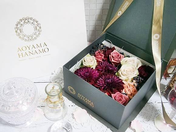 ボックスフラワーアレンジメントは花ギフトにおすすめ!青山花茂は宮内庁御用達の高級プレゼント