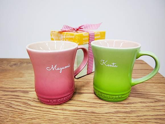 ルクルーゼ マグカップ 名入れギフトなら女性も男性も嬉しいプレゼント