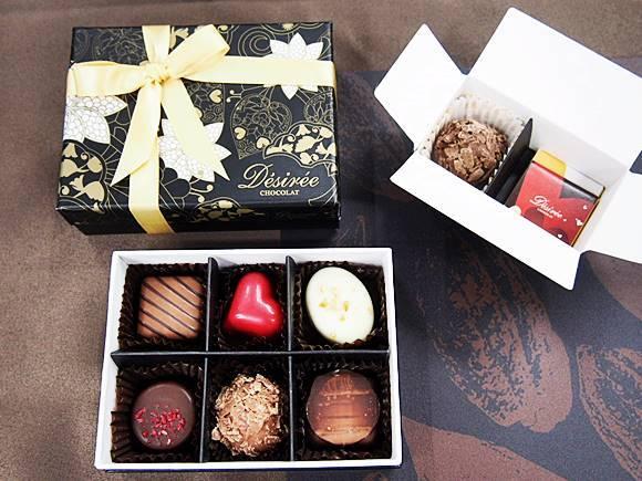 【バレンタイン チョコ 2018】本命チョコ購入で義理チョコプレゼントのデジレーは人気の海外チョコレート
