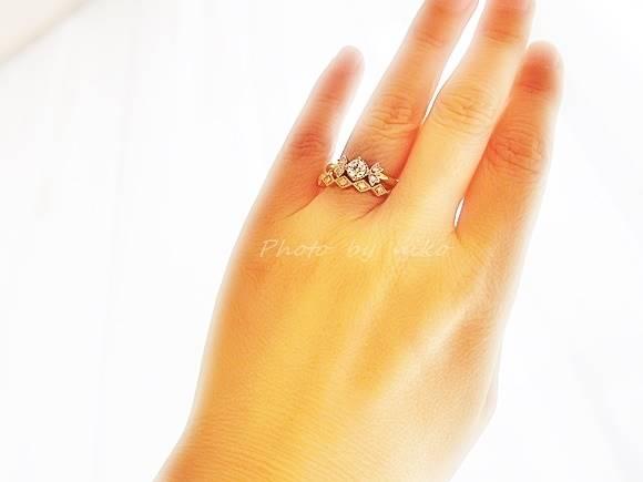 婚約指輪 安い ブリリアンス