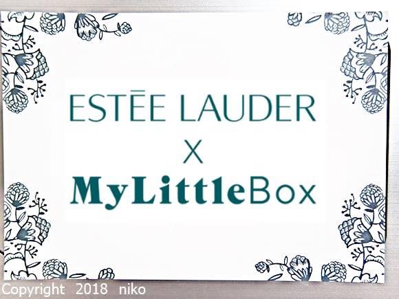 【クーポン情報】マイリトルボックス 2018年10月 エスティローダー コスメ現品サイズ2点入り